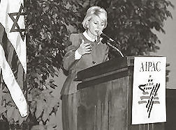 Jane Harman speaks to Phoenix Aipac event
