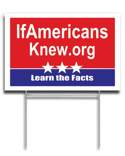 Learn The Facts - Yard Sign