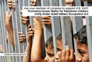 Human Rights for Palestinian Children Card