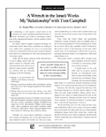 Side 1 of Tom Campbellarticle