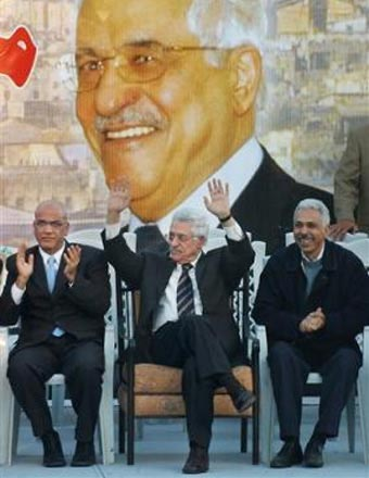 Mahmoud Abbas, the new Palestinian president.