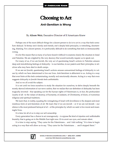 Choosing to Act article