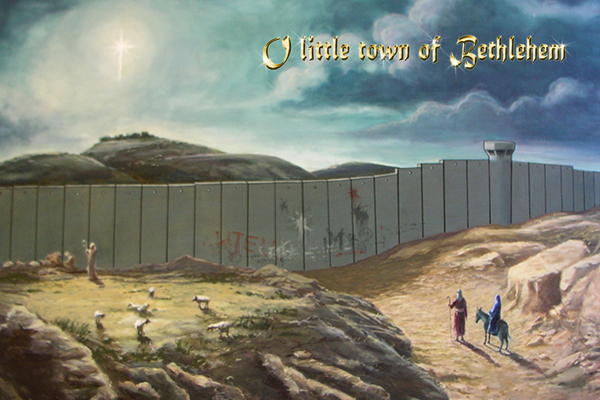 O, little town of Bethlehem card