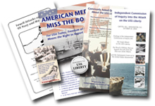 Liberty booklets, brochures, and flyers