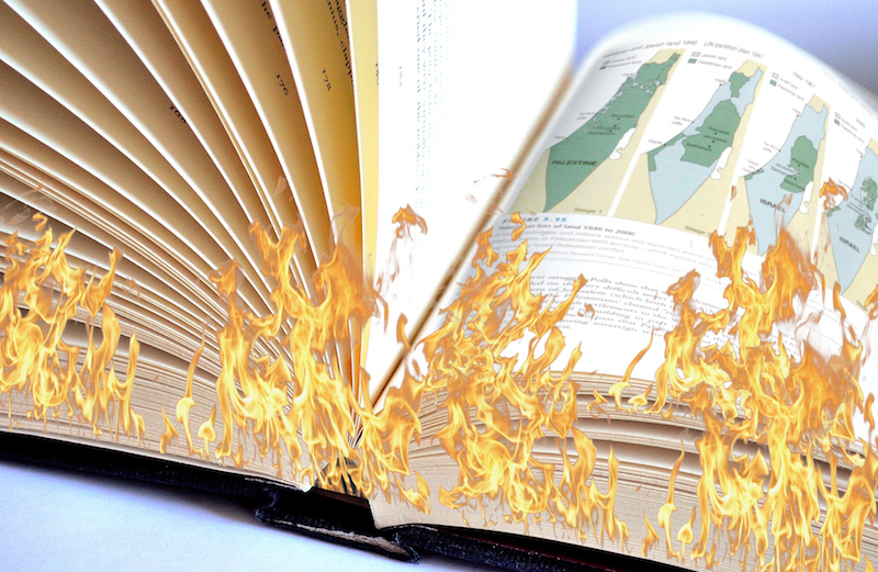 mcgraw hill destroys accurate textbooks after israel partisans complain