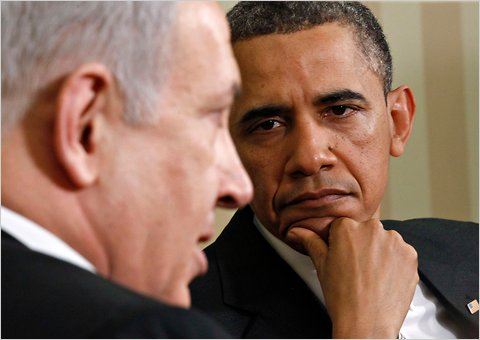 President Obama and Israeli PM Benjamin Netanyahu