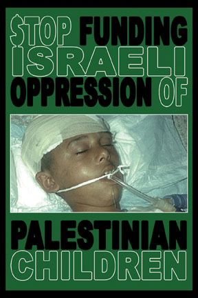 Stop Funding Israeli Oppression of Palestinian Children Card